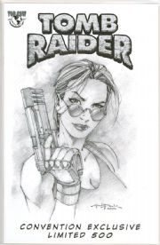Tomb Raider #20 Andy Park Pittsburgh Con Sketch Variant Jay Company COA Top Cow Comics